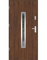 Drzwi wejściowe stalowe model LUX GALA 84 INOX