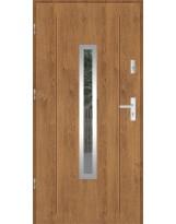 Drzwi wejściowe stalowe model SP GALA 84 INOX