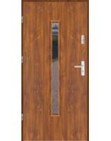 Drzwi wejściowe stalowe model LUX F 10