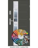 Farba do drzwi z barwnikiem RAL
